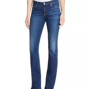 Seven For All Mankind Kimmie Boot Jeans 25 × 32